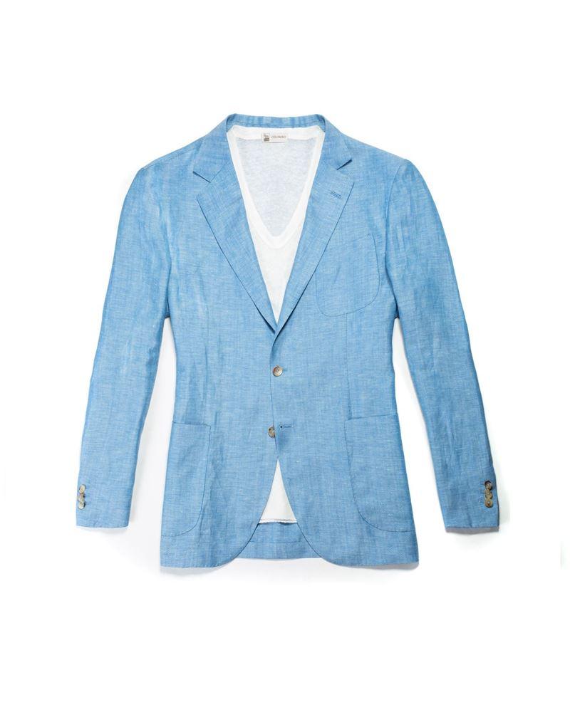 图片 Colombo - 浅蓝色西装外套