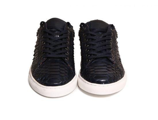 圖片 Aizea - 黑色蛇紋運動鞋