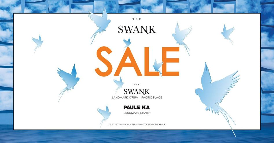 THE SWANK SS17 SALE