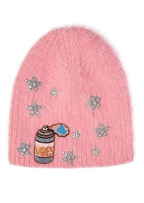 图片 Jennifer Behr - 粉红色冷帽