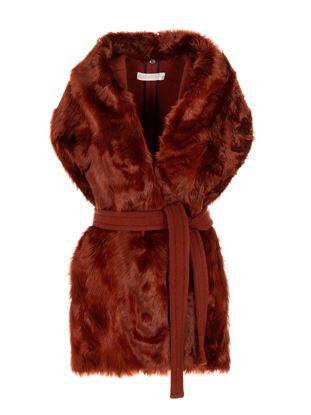 圖片 Mantu - 酒紅色背心外套
