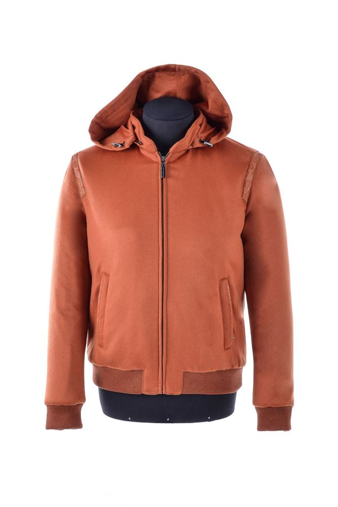 图片 Hettabretz - Brown leather jacket