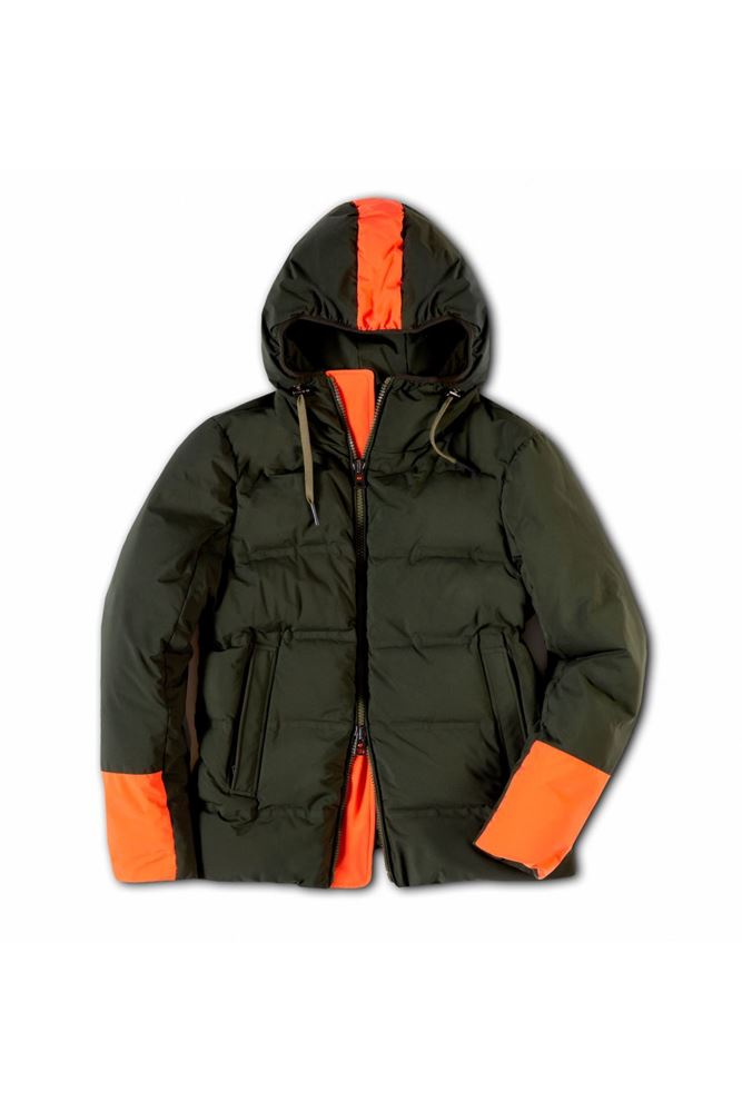 Picture of Kired - Bicolour hooded Ski jacket