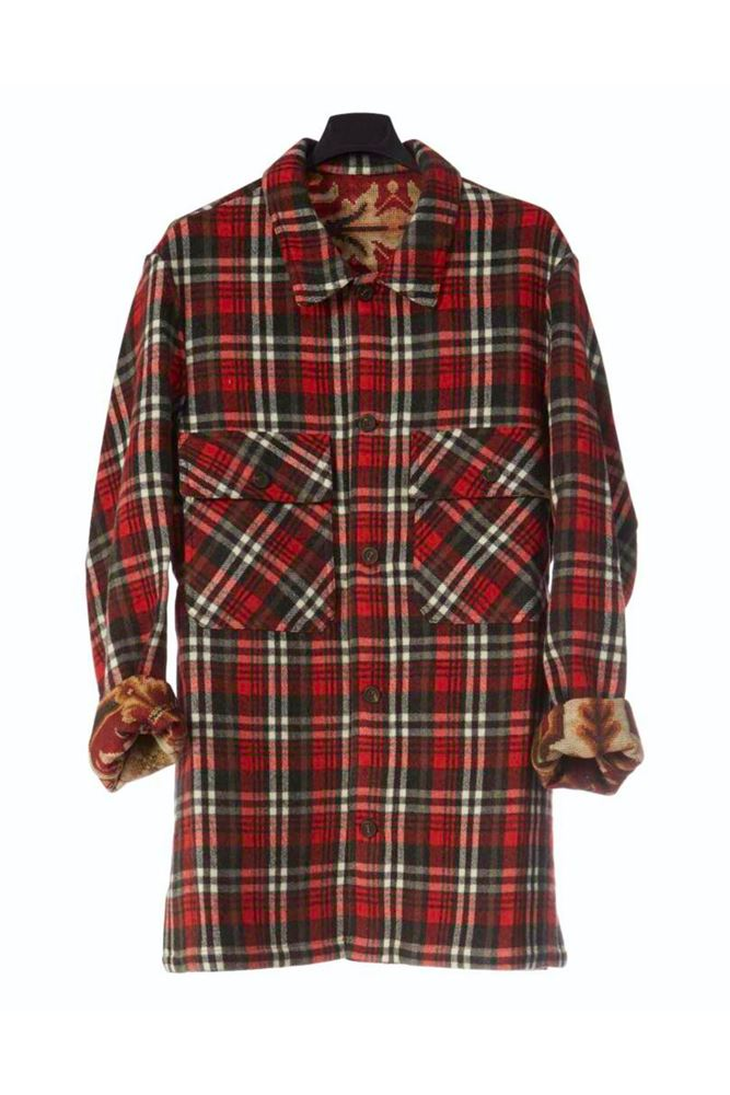 图片 Pierre-Louis Mascia - Red checked jacket