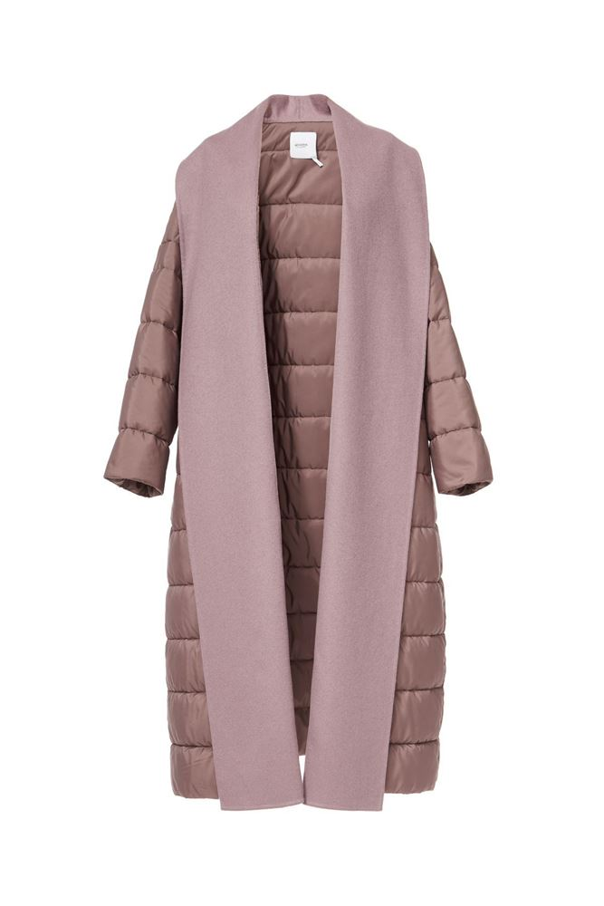 Picture of Agnona - Hooded down jacket