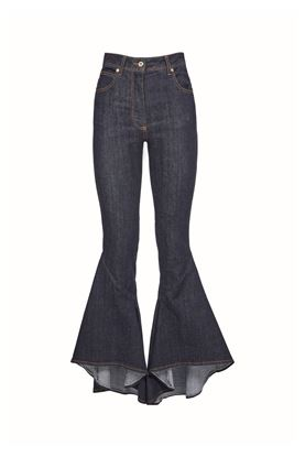 图片 Blumarine - Flared denim jeans