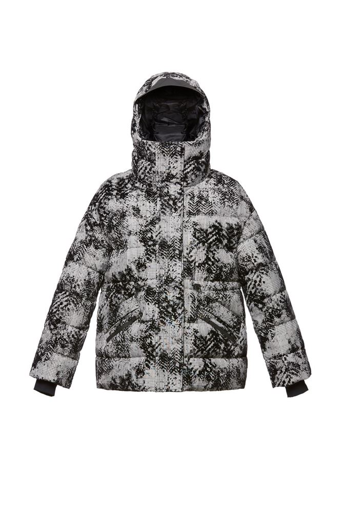 圖片 Herno - Floral printed down jacket