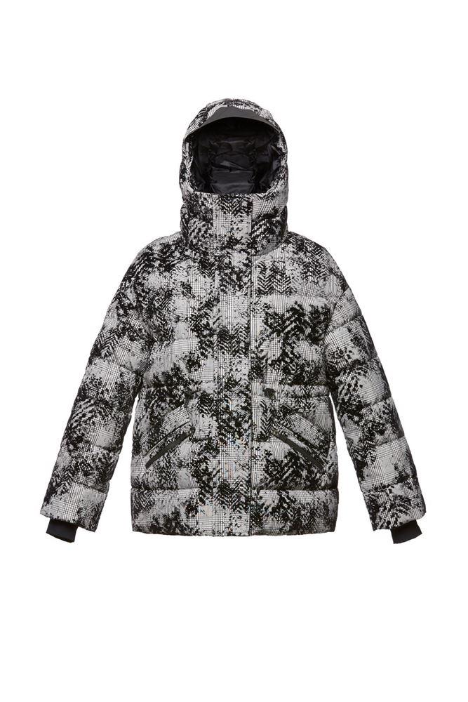 图片 Herno - Floral printed down jacket
