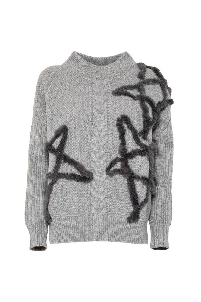 圖片 Lorena Antoniazzi - Grey sweater