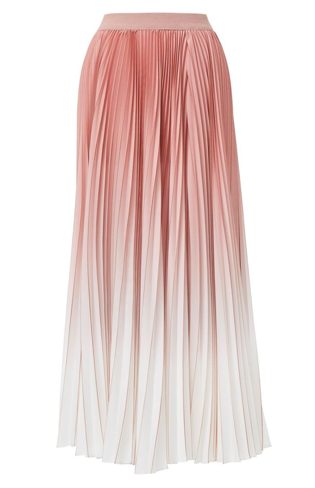 图片 Agnona - Pleated Shaded Skirt