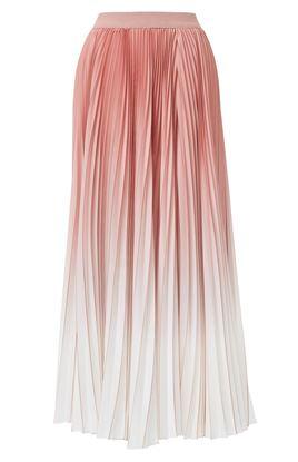 图片 Agnona - Pleated Shaded Skirt