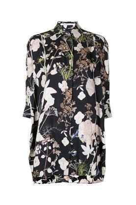 圖片 Agnona - Pressed Flower Printed Silk Twill