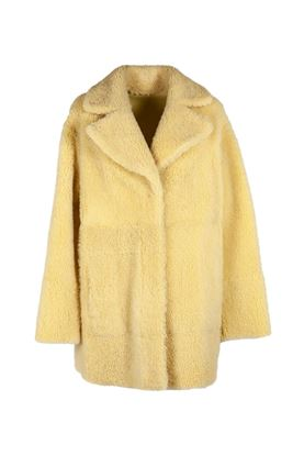 Picture of DROMe - Lacon Curly Shearling  Coat