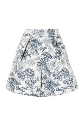 Picture of Erdem - Floral Print Tailored Shorts