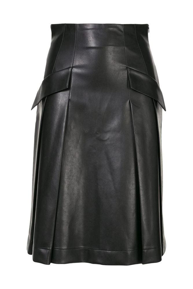 图片 Ermanno Scervino - Flap Pocket Skirt