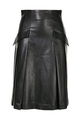 Picture of Ermanno Scervino - Flap Pocket Skirt