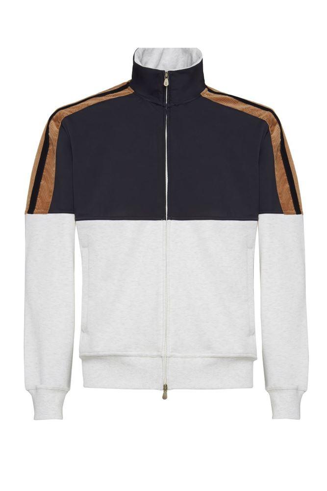 图片 Brunello Cucinelli - Zip-up Sports Jacket