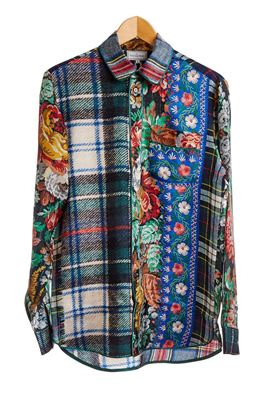 Picture of Pierre-Louis Mascia - Patchwork Style Shirt