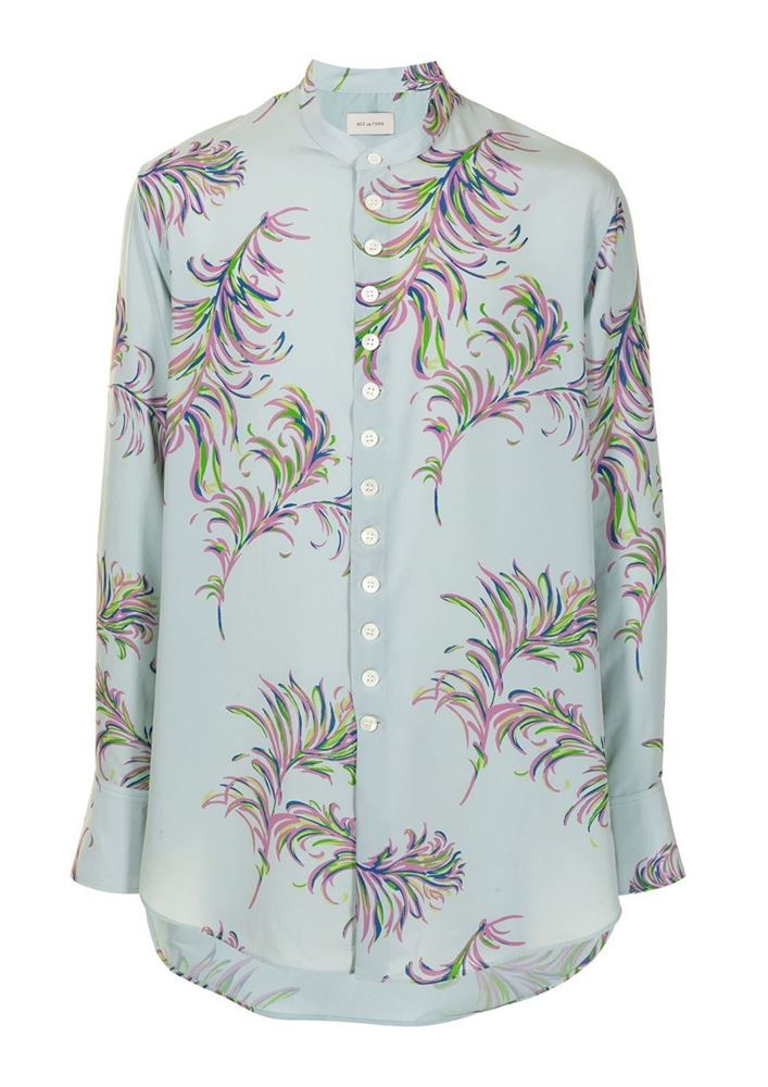 Picture of Bed J.W. Ford - Floral Button-down Shirt