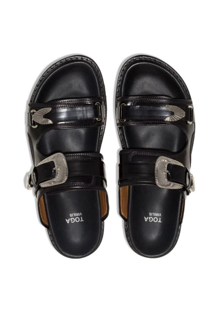 图片 Toga Virilis - Chunky Buckled Strap Sandals