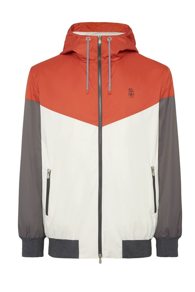 Picture of Brunello Cucinelli - Outerwear with hood