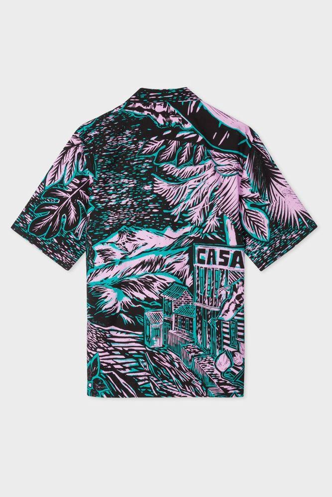图片 Paul Smith - Tailored-Fit 'Chile' Print Shirt