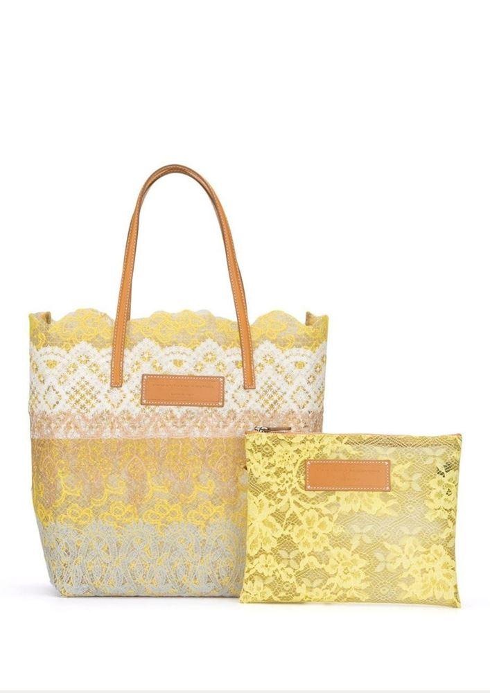Picture of Ermanno Scervino - Lace Tote Bag