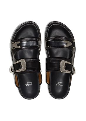 Picture of Toga Virilis - Chunky Buckled Strap Sandals