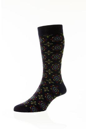 Picture of Govan Bold Geometric Socks- Short