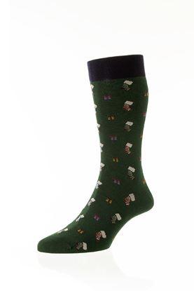 Picture of Starfield Christmas Presnets & Stockings Socks  Short
