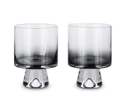 Picture of Tank Low Ball Glasses X2 Black