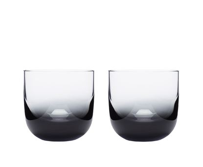 Picture of Tank Whiskey Glass X2 Black