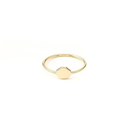 Picture of Small Heptagon Ring