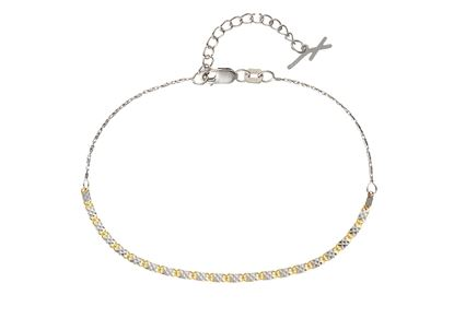 Picture of Piatto Yellow & White Bracelet 20Cm 2.04G