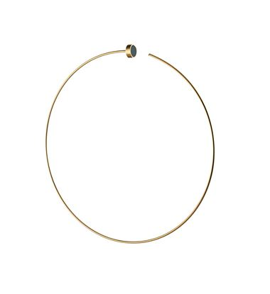 Picture of Cerchio Yellow Earring 6.5Cm