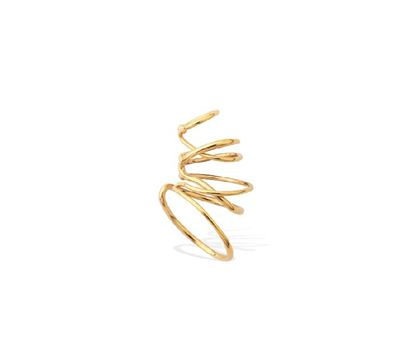 Picture of A Continuous Strand Of Gold Vermeil Wrap Ear Cuff