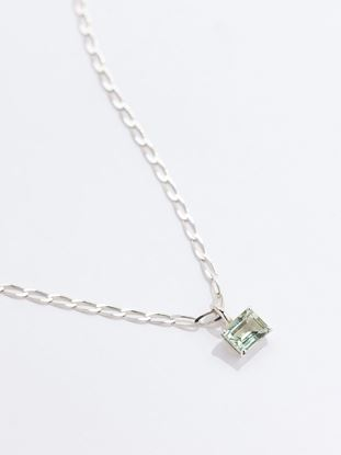 Picture of Green Amethyst Gem Chain Necklace