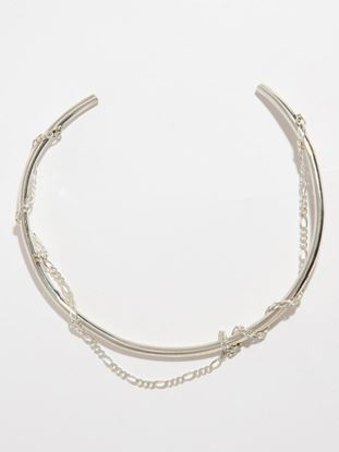 Picture of Sterling Silver Choker W/ Chain Wrapped