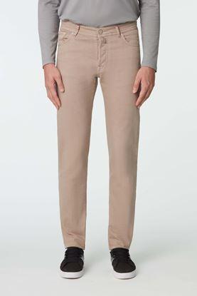 Picture of Khaki Cotton Blend Jeans