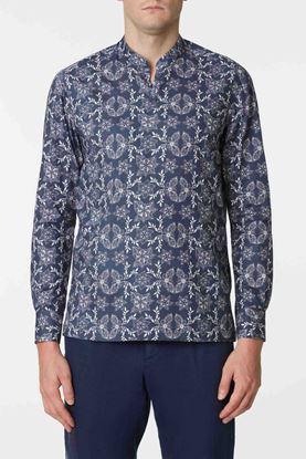 Picture of Multicolour Floral Print Cotton Shirt