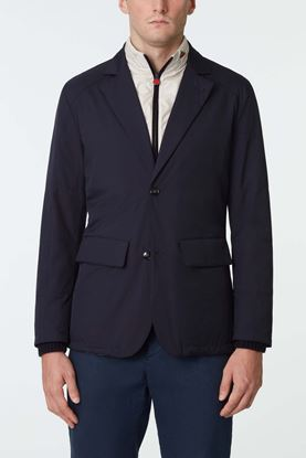 Picture of Navy Quilted Detachable Jacket
