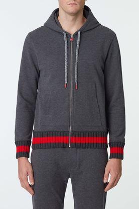 Picture of Grey Zip Up Hood Jacket