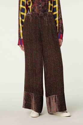 Picture of Multicolour Check Print Pants