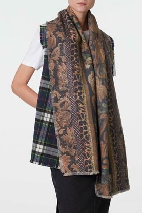 Picture of Multicolour Floral Print Scarf