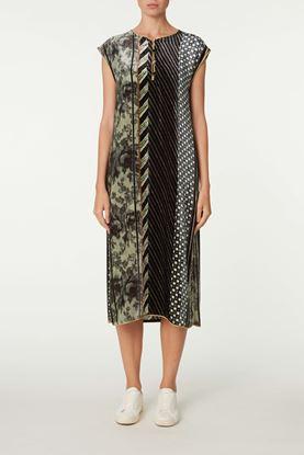 Picture of Multicolour Geometric Print Dress