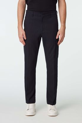 Picture of Black Pinstripe Pants