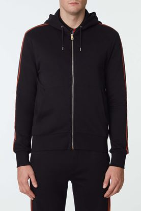Picture of Black Zip-Up Hood Jacket
