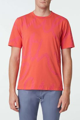 Picture of Orange Rope Print T-Shirt