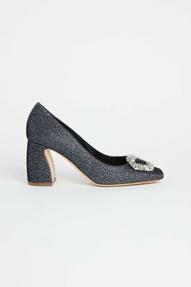 Picture of Blue Glitter Heels 80mm