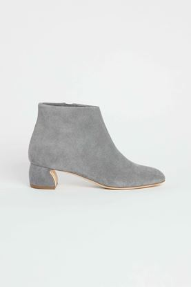 Picture of Grey Suede Ankle Boots 50mm